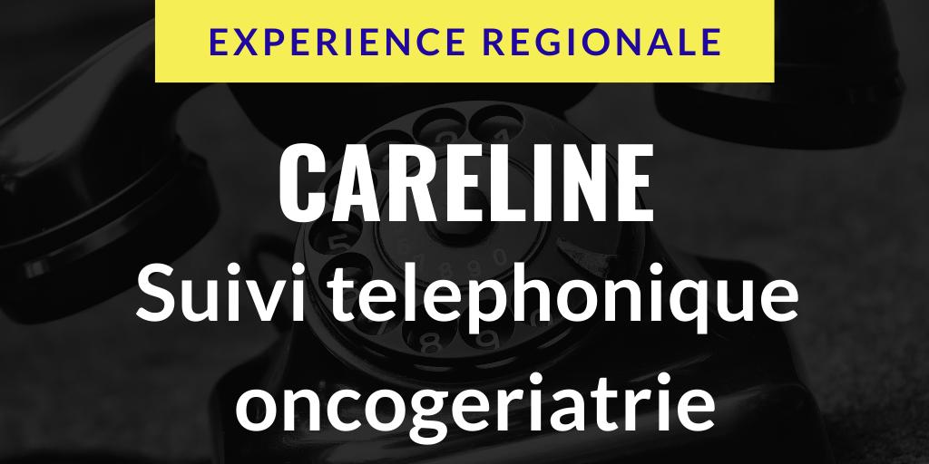 Careline : suivi téléphonique en oncogériatrie